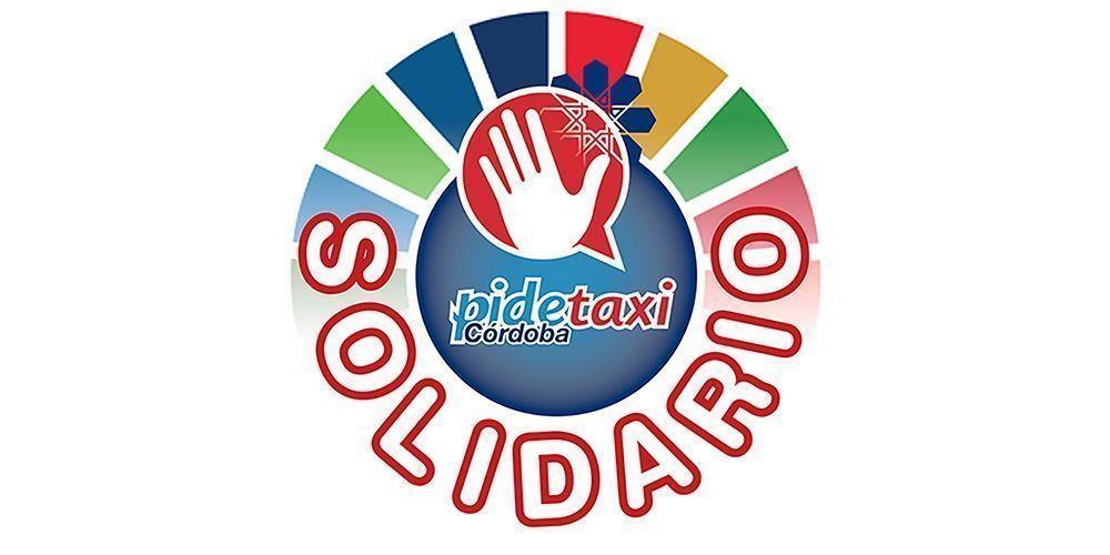 Logo Pidetaxi Córdoba solidario